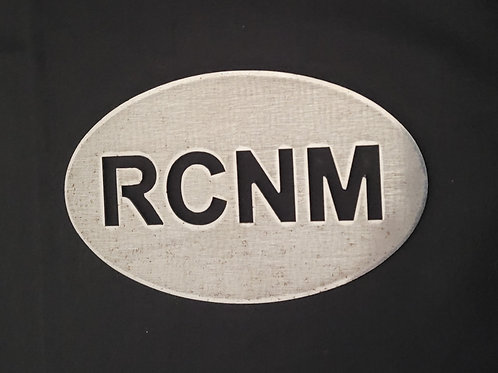 Plaque RCNM