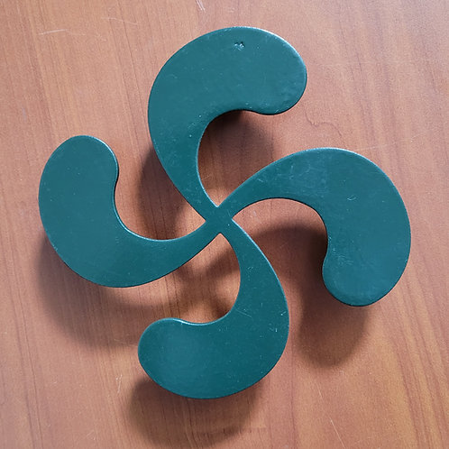 Dessous de plat croix basque 30 cm