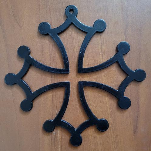 Croix occitane 25 cm