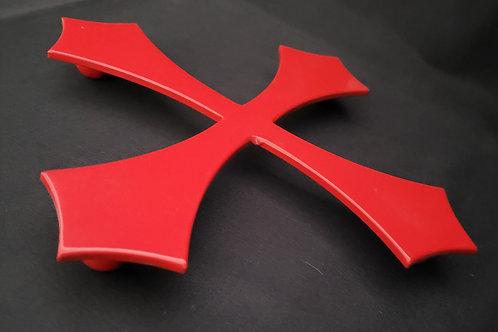 Dessous de plat croix Templiers 25 cm