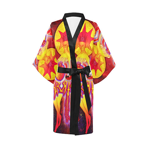 Soul Warrior Woman Robe