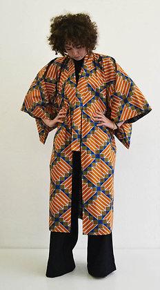 Manteau kimono  imprimé Sweet Honey