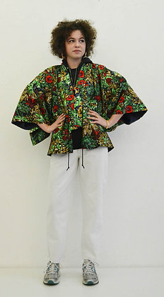 Veste kimono  imprimé Village