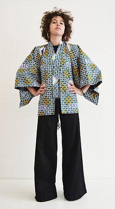 Veste kimono imprimé 8 mars