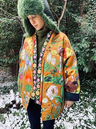Veste kimono Nathalie l'Eté x WOWO  Champignons