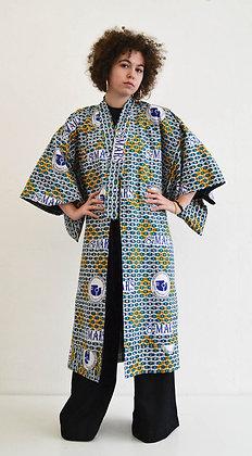 Manteau kimono imprimé 8 Mars