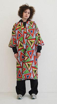 Manteau kimono Triangle rouge