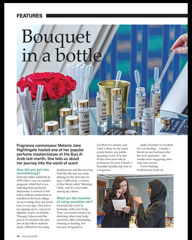 Experience Jumeirah Magazine page 1