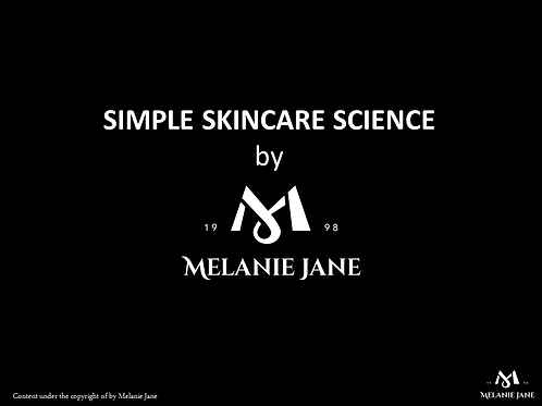 Simple Skincare Science e-book