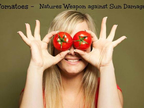 TOMATOES - A NEW WEAPON AGAINST SUN DAMAGE