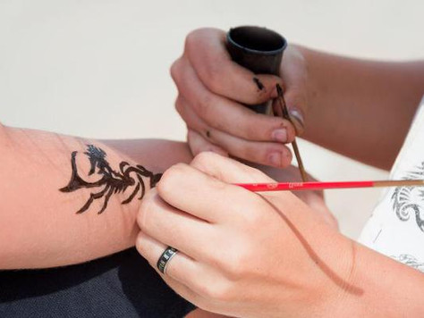 TEMPTED BY TEMPORARY TATTOOS? There's no such thing as 'Black Henna'...
