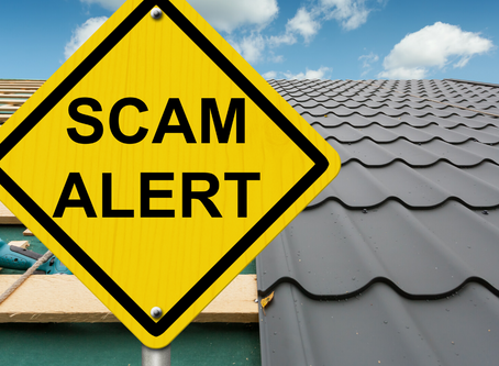 The Three Most Common Roofing Scams