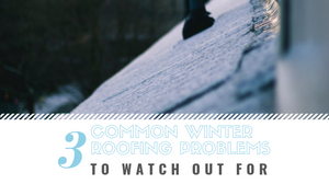 Winter Roof Problems