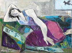 The dream, 2013, oil/canvas, 60X80 cm