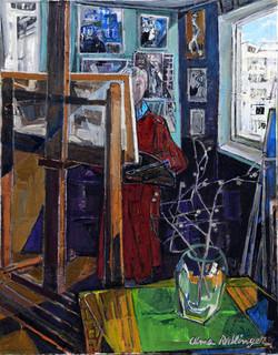 Lost in the studio, 2010, oil/canvas, 90x70 cm
