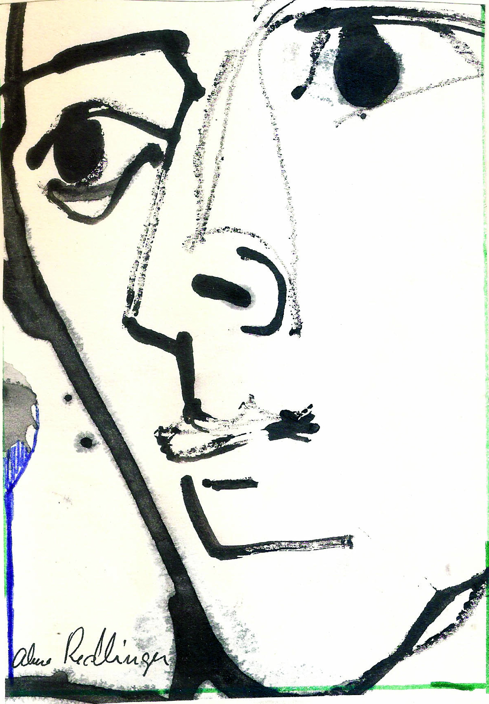 No title, 1998, ink_ paper
