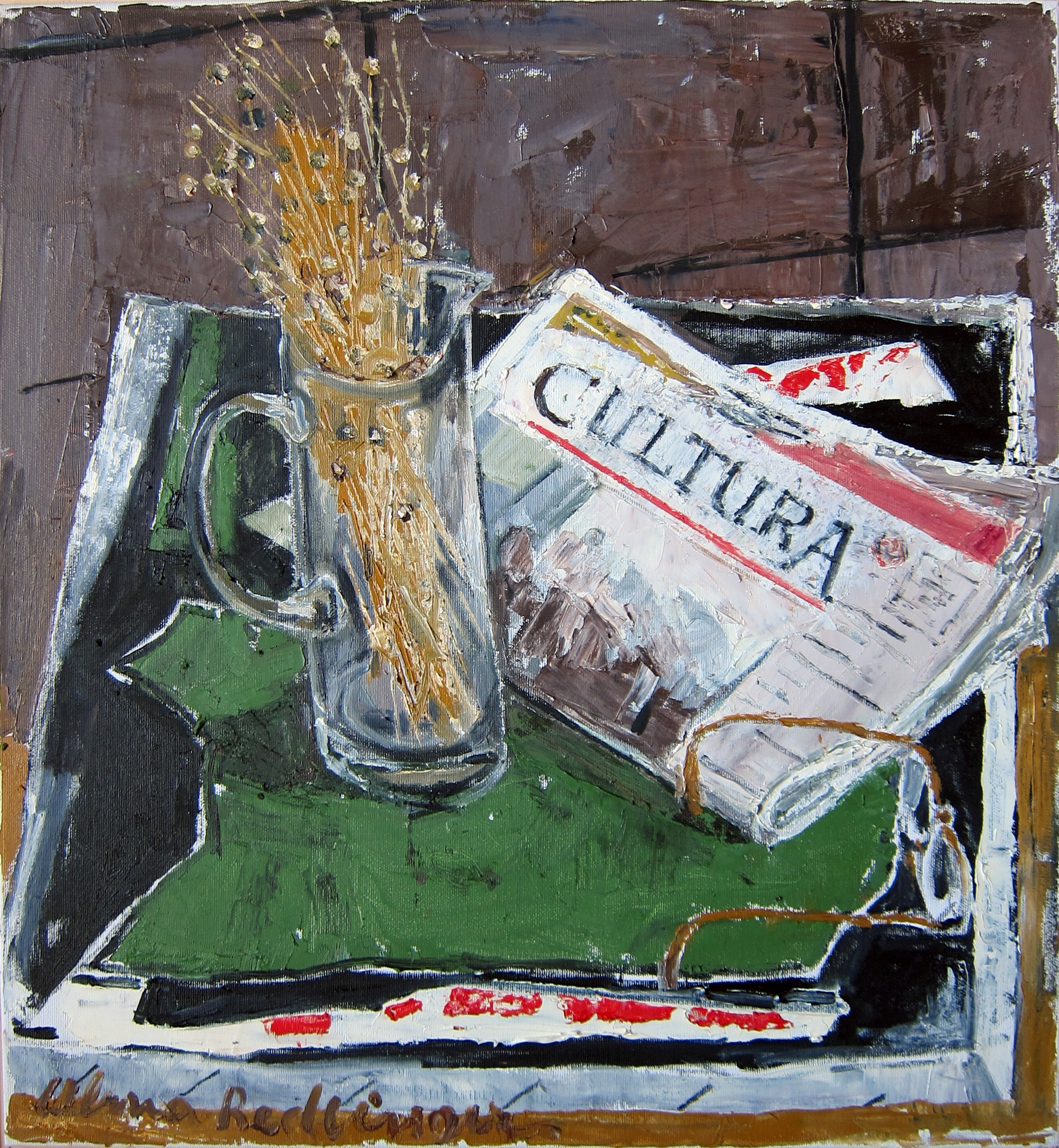 Cultura, 2011, oil/canvas,  55x50 cm