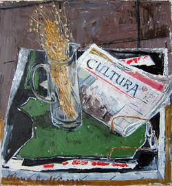 Cultura, 2011, oil/canvas,  55x50 cm