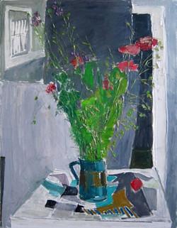 Poppies, 2014, oil/canvas, 70x50 cm