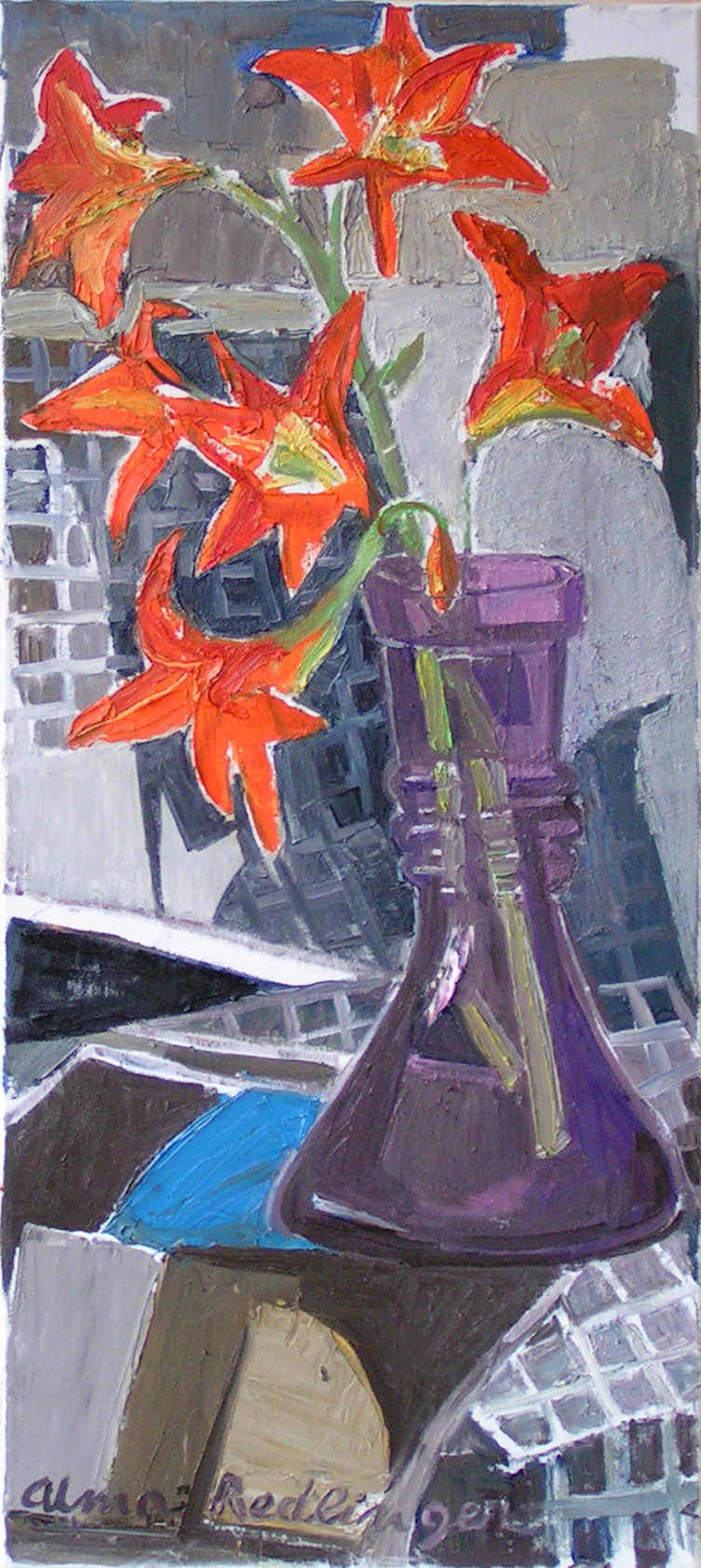 Lilies, 2009, oil/canvas