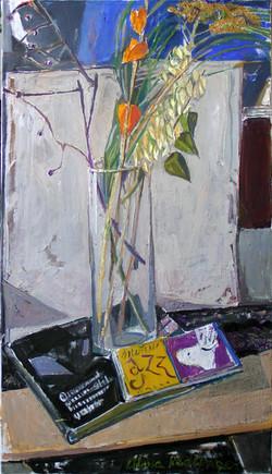 Jazz, 2011, oil/canvas, 70x40 cm