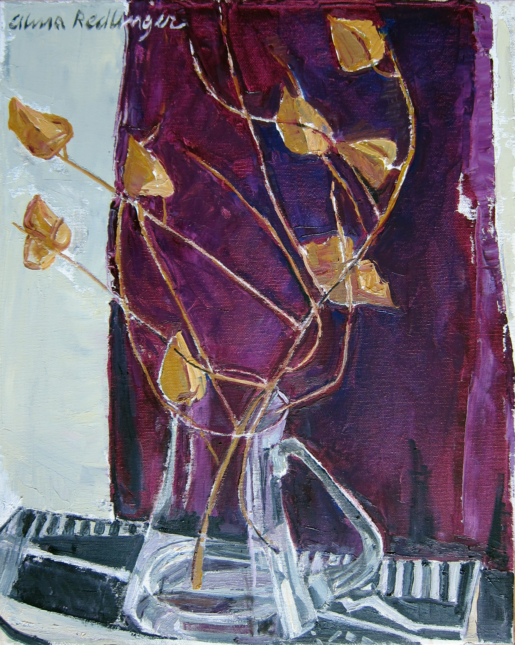 Autumn cups, 2012, oil/canvas, 50x40 cm