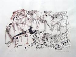 Composition 2, 1967, 38X55 cm