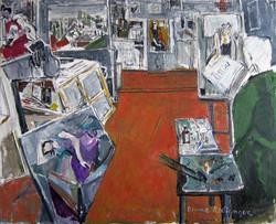 Studio, 2013, oil/canvas, 65x80 cm