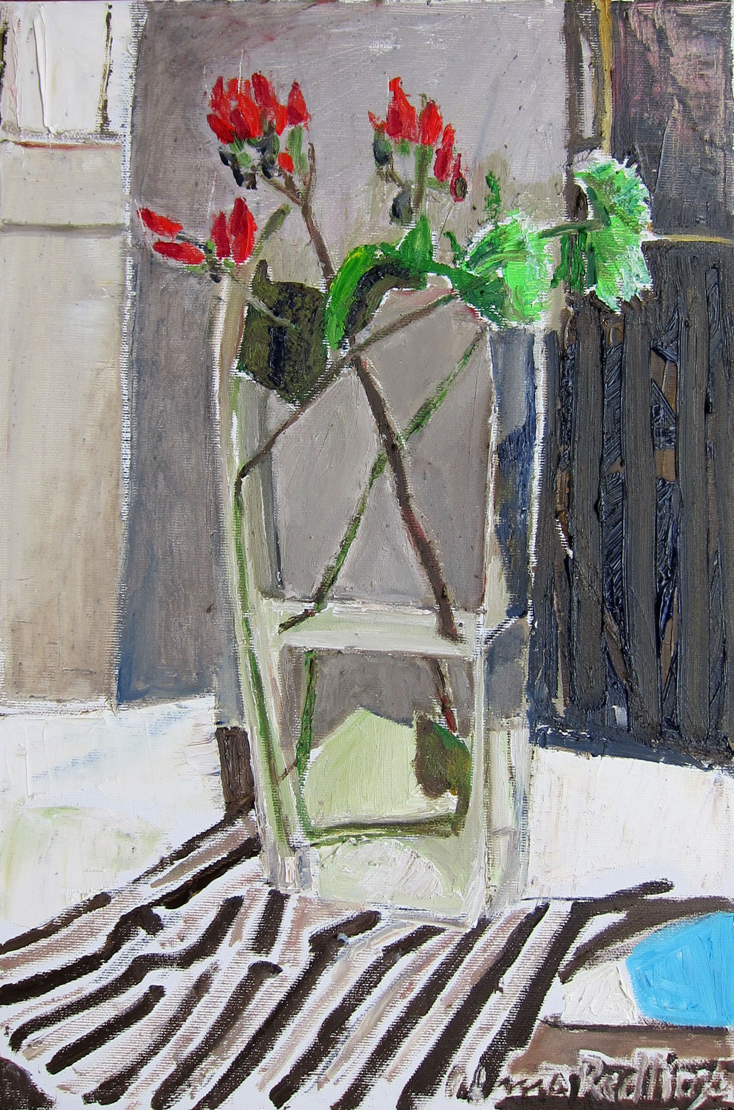 Rosehip, 2012, oil/canvas, 45x30 cm