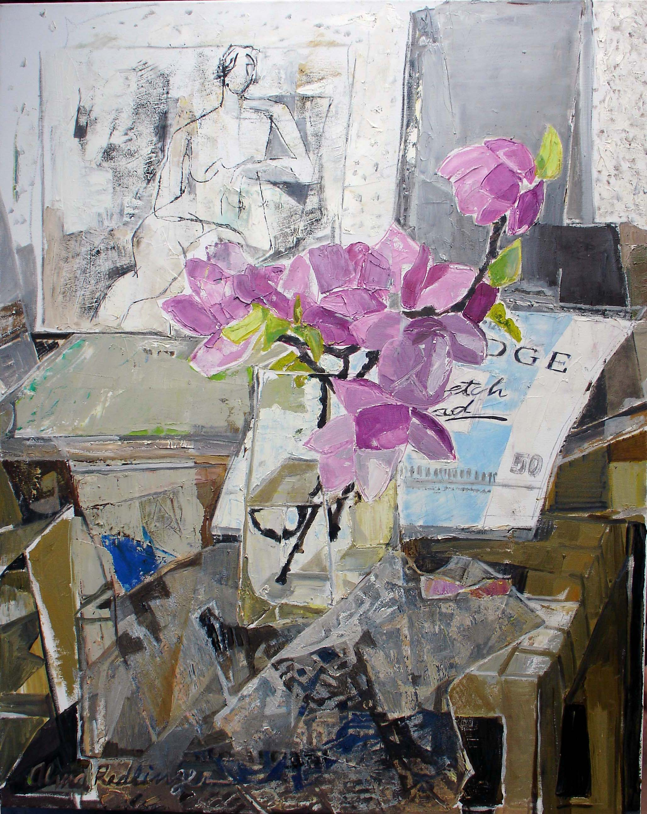 Magnolia, 2008, oil/canvas