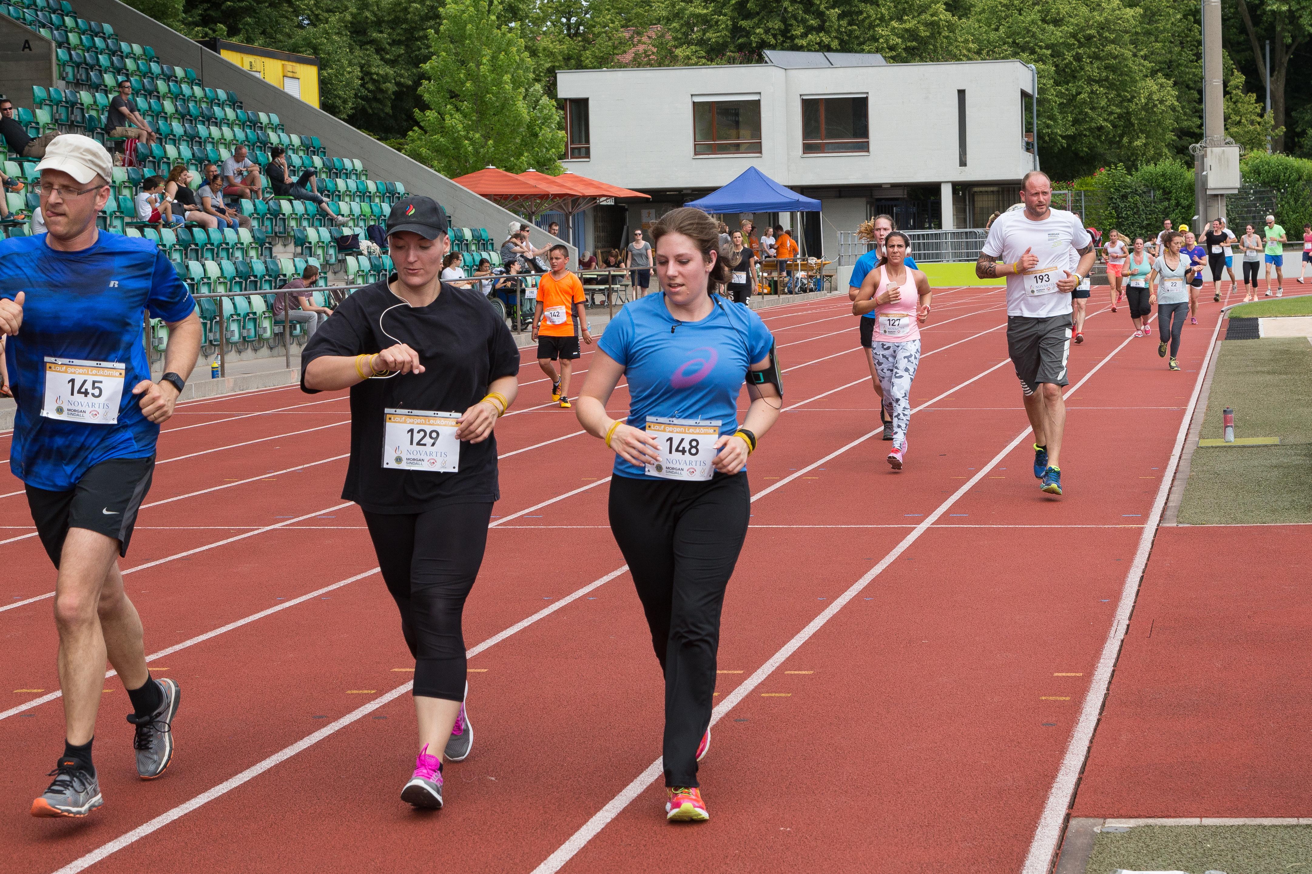 Lauf gegen Leukämie Basel