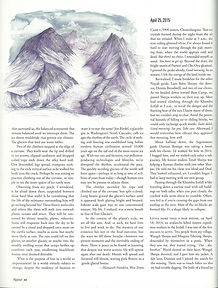 Alpinist Article Page 1