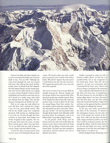 Alpinist Article Page 3