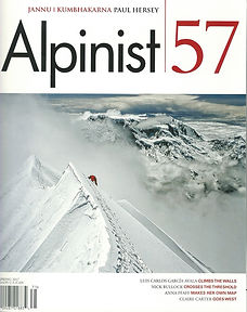 Alpinist Magazine Cover