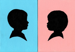 """""""Color Background Silhouettes"""""""