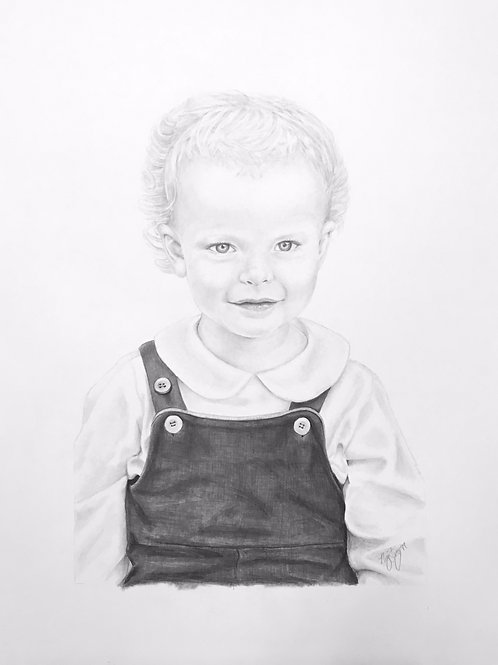 Custom Graphite Portrait