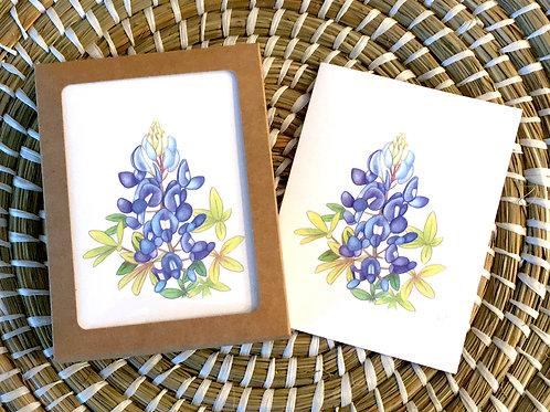 Bluebonnet Note Card Set