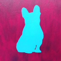 """""""Frenchie Silhouette"""""""