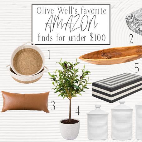 Olive Well's Favorite Amazon Finds Under $100