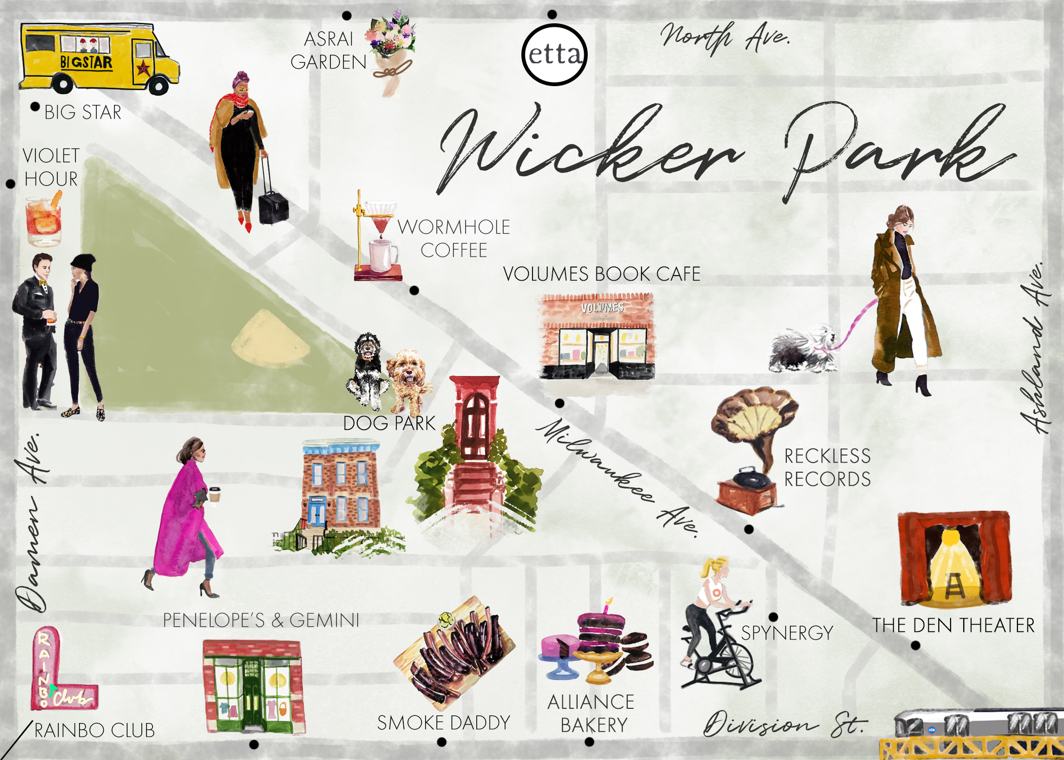 Explore Wicker Park