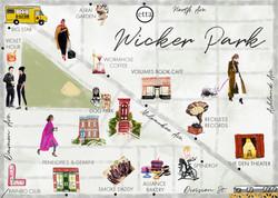 Wicker Park Map