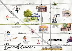 Bucktown Map