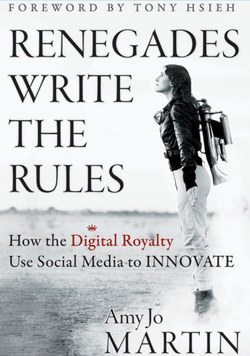"""""""Renegades Write the Rules,"""" Amy Jo Martin"""
