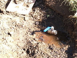 Buried Leaking pipes