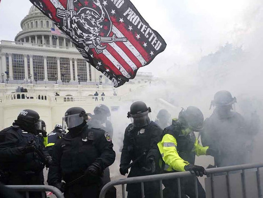Hypocrisy of Media Coverage & Law-Enforcement Activity At Today's Riot At The US Capitol