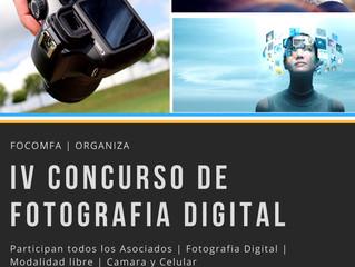IV Concurso de Fotografía Digital - Focomfa 2018