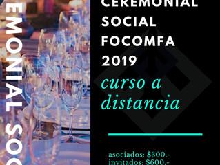 Curso de Ceremonial Social