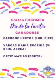 SORTEO FOCOMFA