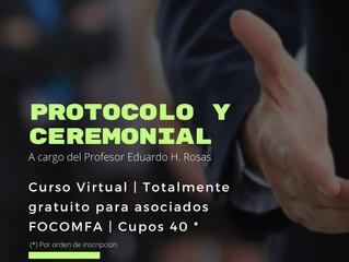 Curso Virtual de Protocolo y Ceremonial