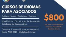 Nuevo Convenio | CURSOS DE IDIOMAS